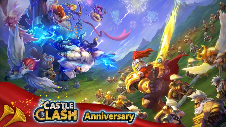 Castle Clash: Anniversary Party screenshot-0