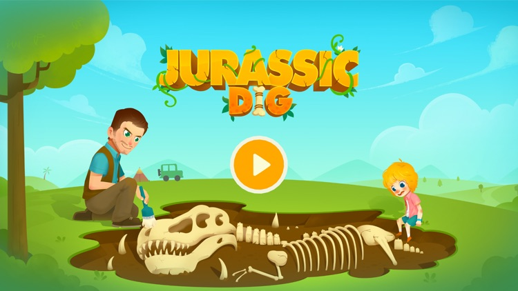 Jurassic Dig - Dinosaur Games screenshot-0
