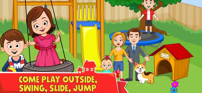 My Town Home Doll House On The App Store