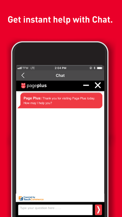 PagePlus My Account App