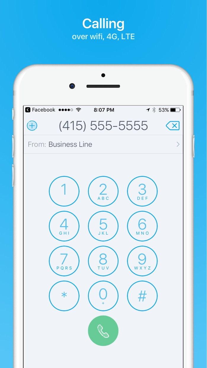 Ring4 - Phone Number on demand Screenshot