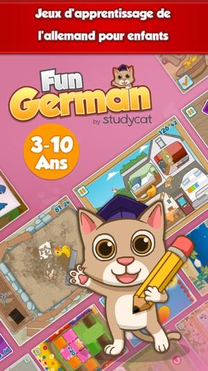 fun german apprendre allemand dans l app store. Black Bedroom Furniture Sets. Home Design Ideas