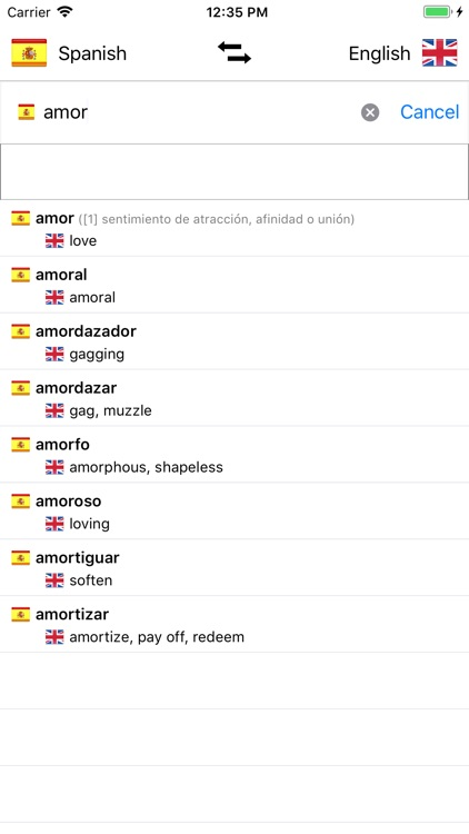 Spanish-English screenshot-0