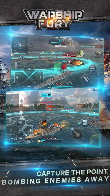 Warship Fury screenshot-3