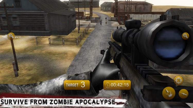 Zombie Assassin Shooter