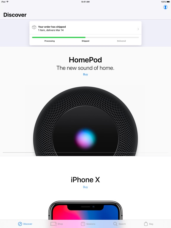 Screenshot #1 for Apple Store