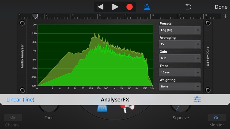 Analyser & Tuner AUv3 Plugin screenshot-5
