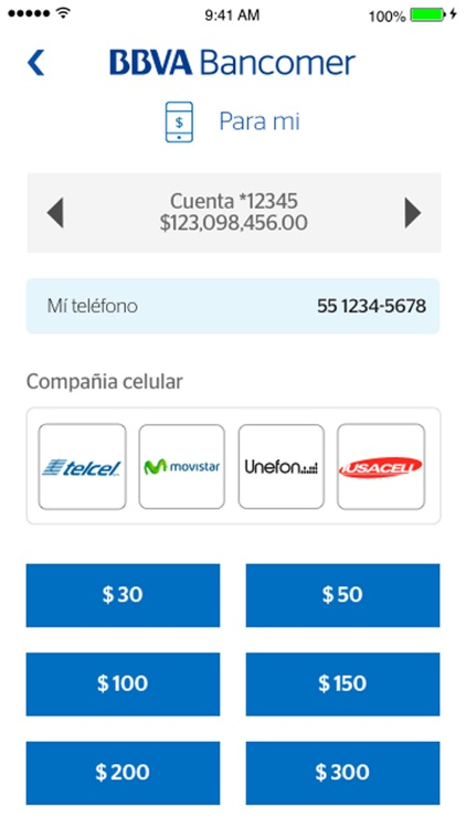 Bancomer móvil screenshot-3