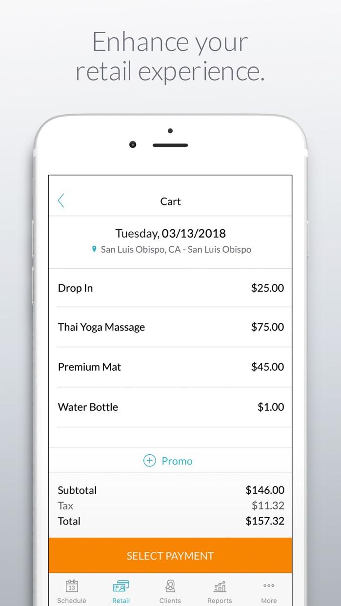 MINDBODY Business Screenshot