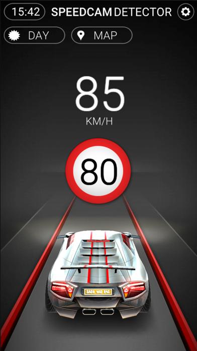 Screenshot of Speedcams Slovenia1
