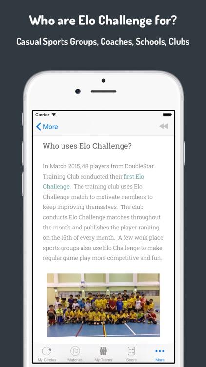 Elo Challenge screenshot-4