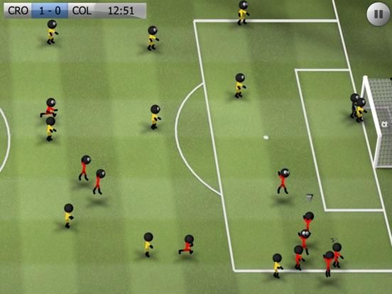 Stickman Soccer Скриншоты10