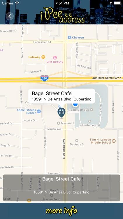 iPee Address - Restroom Finder screenshot-3