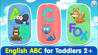 Kids ABC Games 4 toddlers boys screenshot 1