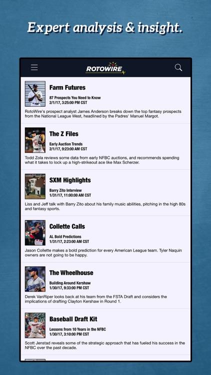 Fantasy Baseball Assistant '18 screenshot-3