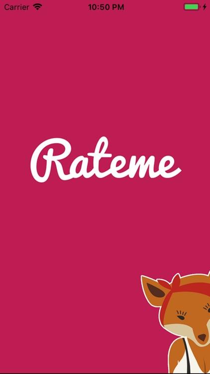 Rateme Application