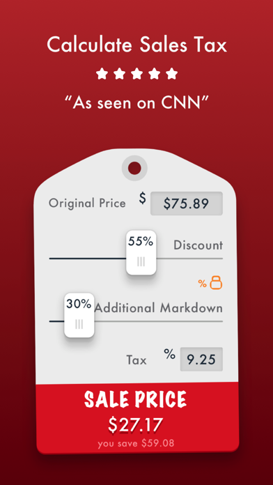 sale price discount calculator app image