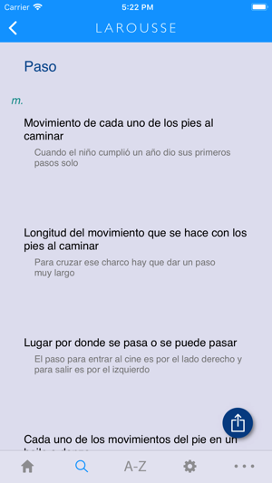 larousse spanish advanced on the app store
