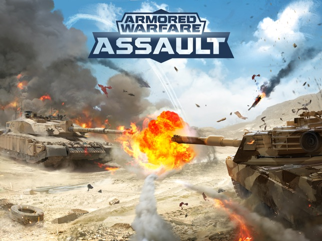 Armored Warfare: Assault Screenshot