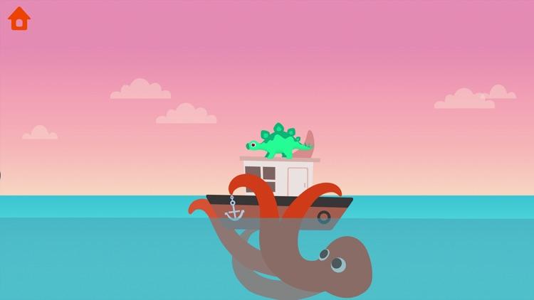 Dinosaur Patrol Boat