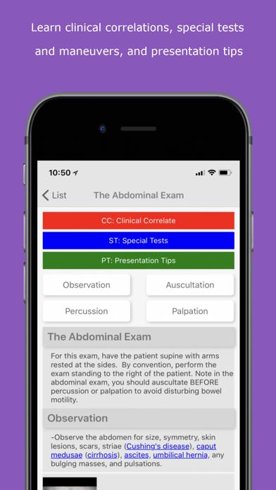 Physical Exam Essentials review screenshots