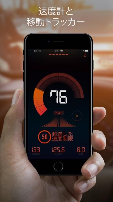 スピードメーター:SPEEDOMETER™ screenshot1