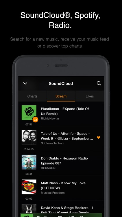 VOX – MP3 & FLAC Music Player screenshot-3