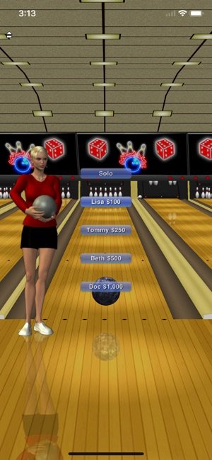 u200evegas bowling lite on the app store
