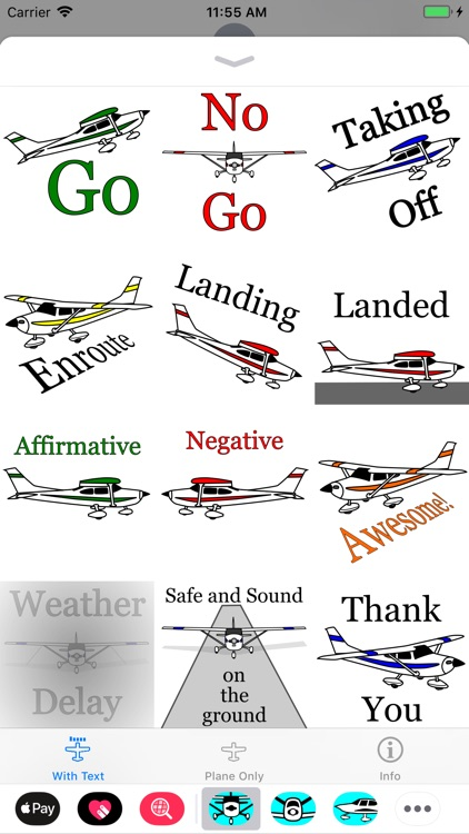 Cessna 182 Sticker App screenshot-1
