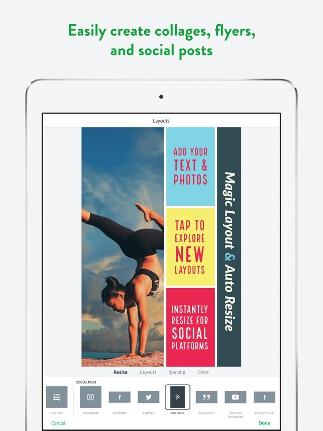 Adobe Spark Post: Poster Maker on the App Store