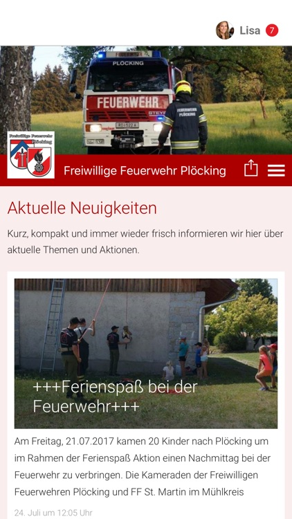 Freiwillige Feuerwehr Plöcking