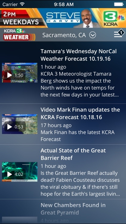 KCRA Weather screenshot-1