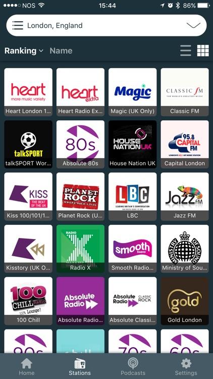 British FM Radio - Live Player