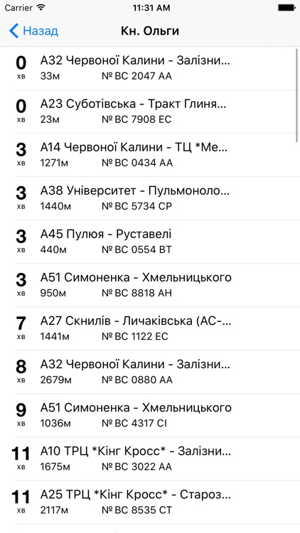Lviv Transport Online screenshot-2