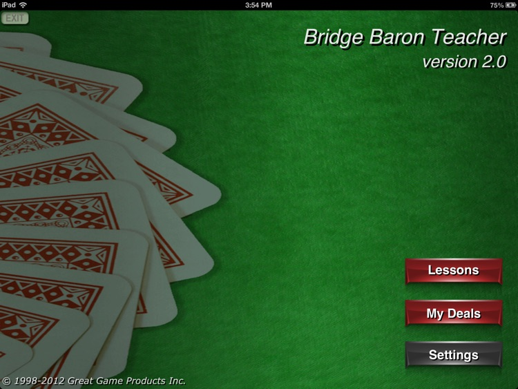 Bridge Baron Teacher screenshot-0