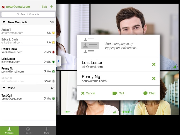 VSee Messenger for iPad screenshot-4