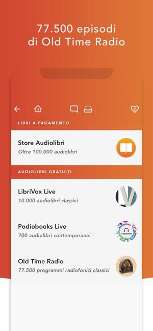 audiolibri gratis in italiano per ipod