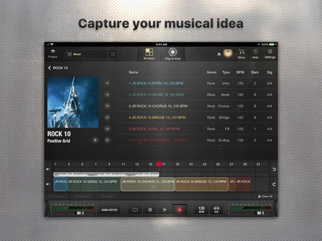 X Drummer: Songwriting Tool Screenshot