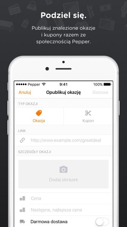 Pepper – Okazje i Kupony screenshot-4