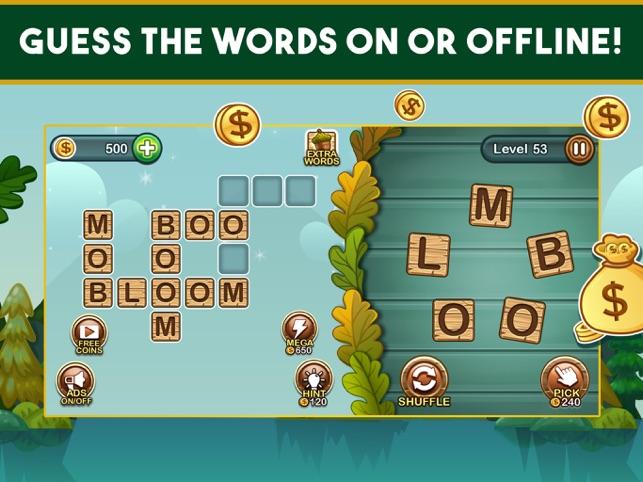 Word Nut Word Games Crossword On The App Store