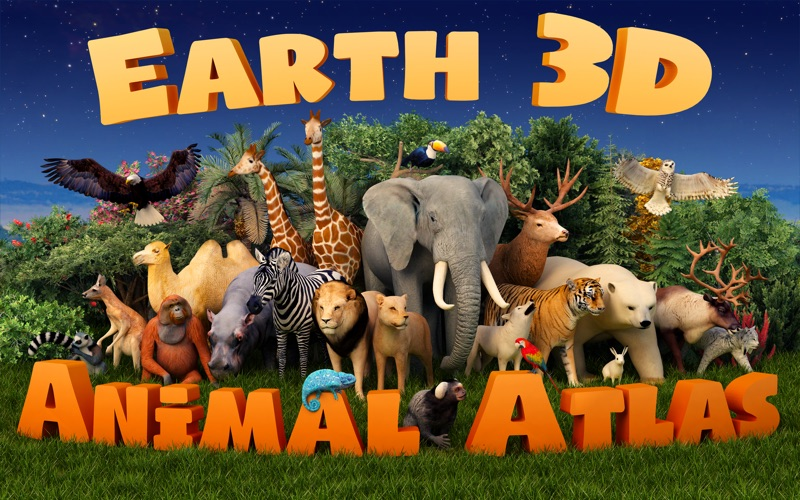 Earth 3D - Animal Atlas