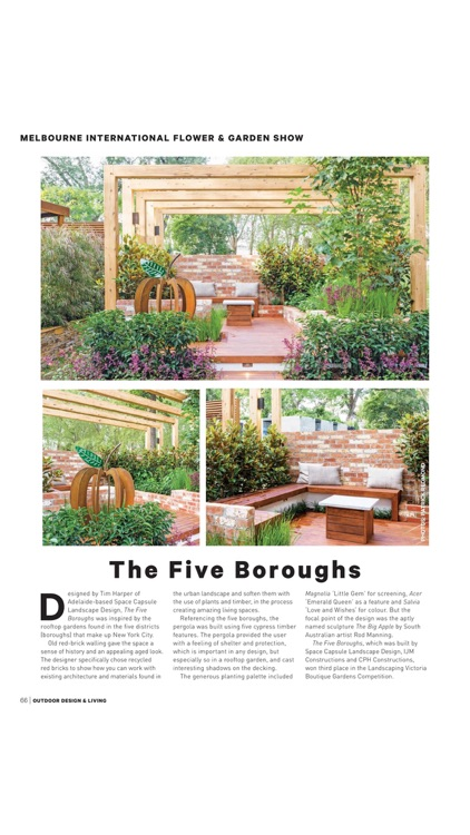 Outdoor Design & Living Magazine - Innovative Design and Construction for Outdoor screenshot-3