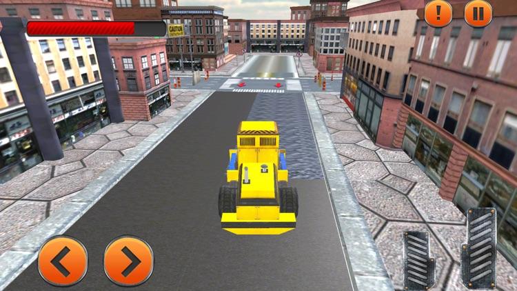 City Real Road Construction screenshot-3