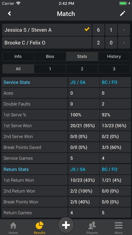Smashpoint Tennis Tracker screenshot-3