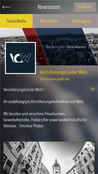 VersicherungsCenter WelsScreenshot von 2