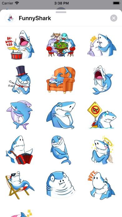 Funny Shark Sticker 2019 screenshot 3