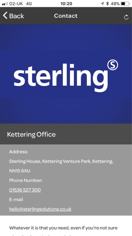 Sterling Connect screenshot-1