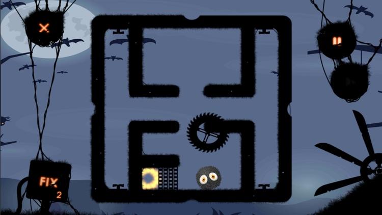 Gravity Guy: Brain it on bump screenshot-4