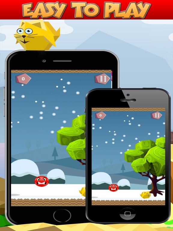 Bouncy Red Ball Game-ipad-1