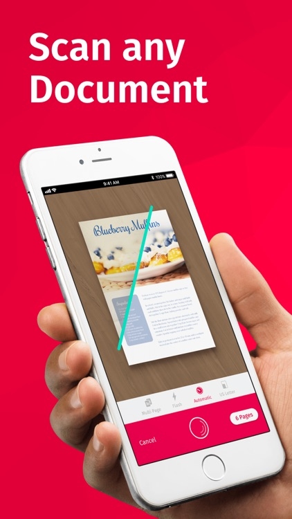 Scanbot Pro: Scanner App & Fax screenshot-0